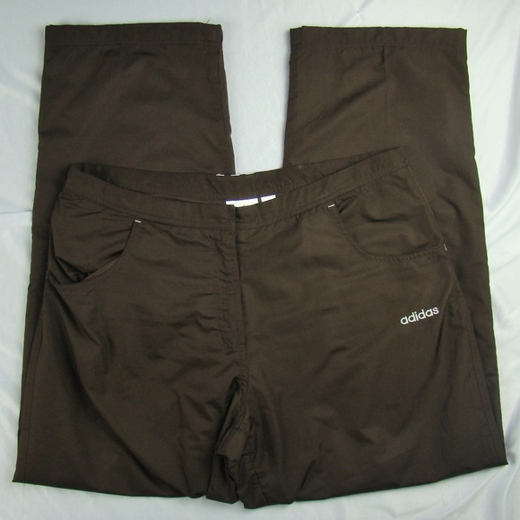 Jogging Lined Athletic Poshmark Track Brown Pants Adidas tw0xZP44